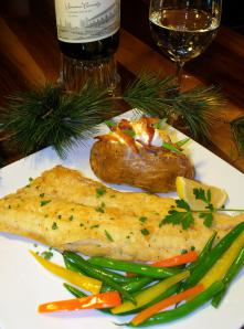 Pan Fried Walleye